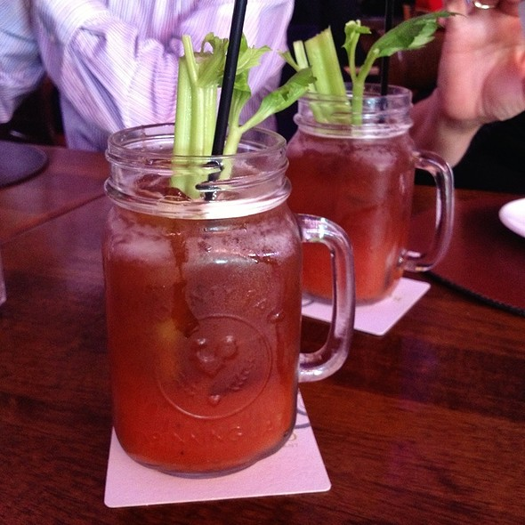 Bloody Mary - Raglan Road Irish Pub, Lake Buena Vista, FL