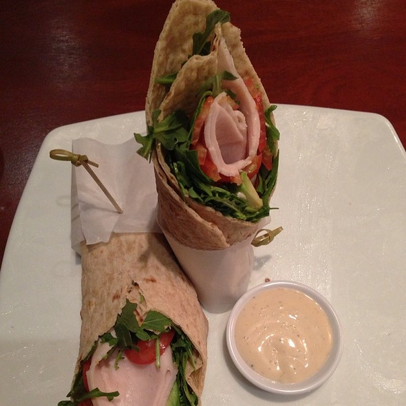 Turkey Wrap - Seasons 52 - Ft. Lauderdale, Fort Lauderdale, FL