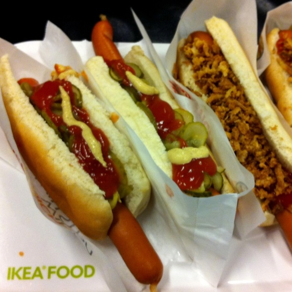 ikea deutschland gmbh co kg hot dog foodspotting. Black Bedroom Furniture Sets. Home Design Ideas