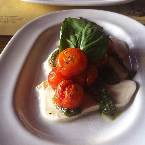 Roasted Cherry Tomato Caprese - Trattoria Lisina, Driftwood, TX