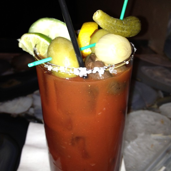 Bloody Mary - Dream Dance Steak at Potawatomi Bingo Casino, Milwaukee, WI