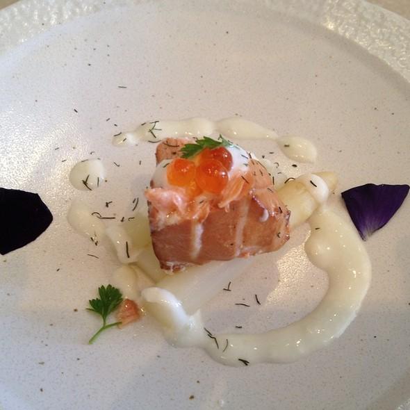 Smoked salmon - Bluefin Restaurant, Newport Coast, CA