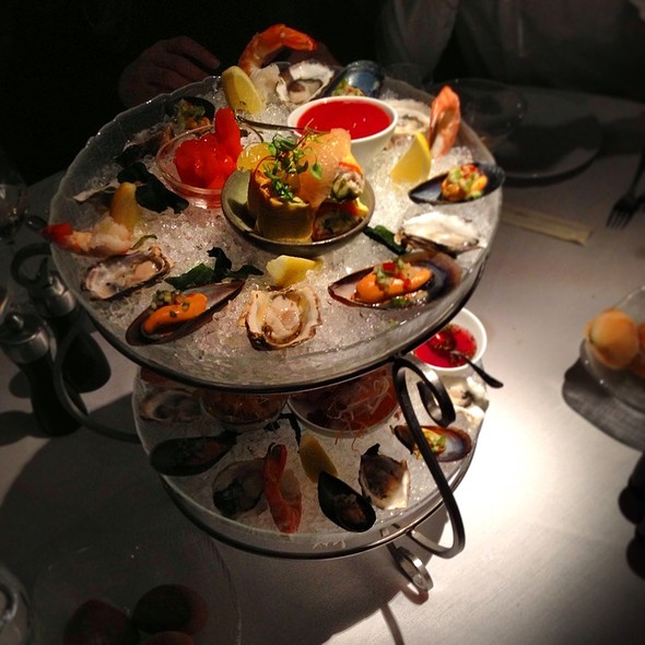 Seafood Tower Two Tiers - Araxi Restaurant & Oyster Bar, Whistler, BC