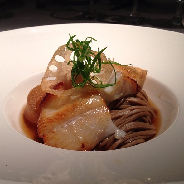 Sablefish With Taro Chips And Soba - Araxi Restaurant & Oyster Bar, Whistler, BC