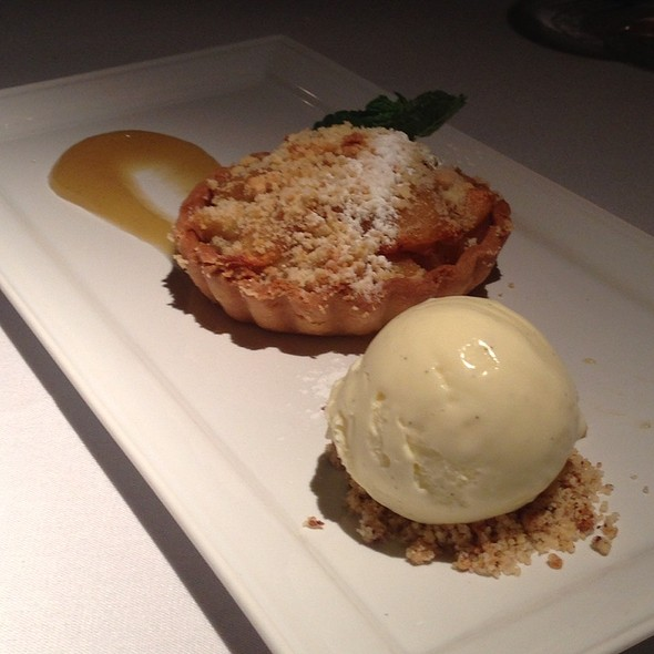 Pear And Apple Galette - Araxi Restaurant & Oyster Bar, Whistler, BC