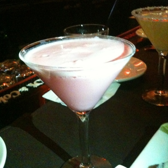 Strawberry Cheesecake Martini - Mo's a Place for Steaks - Houston, Houston, TX