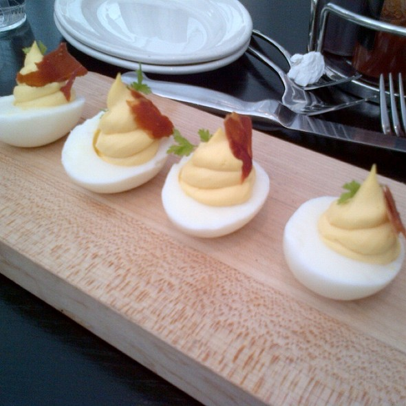 Deviled Eggs - The Q Restaurant & Bar (fka BarBersQ), Napa, CA