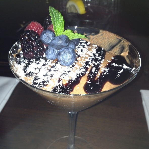 Chocolate Mousse - New Sheridan Chop House, Telluride, CO
