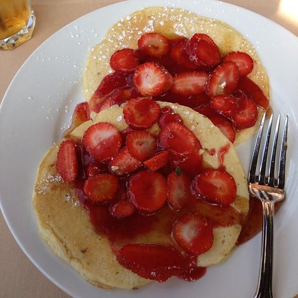 Healthy Pancake Breakfast - Mia Bella Trattoria - Vintage Park, Houston, TX