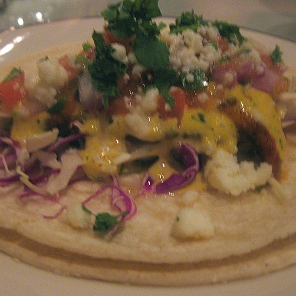 Blackened Fish Taco - Salty's on the Columbia, Portland, OR