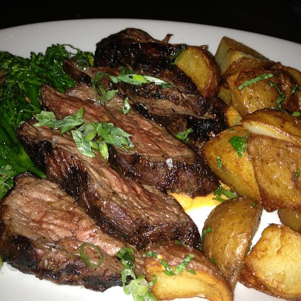 Steak With Broccolini And New Potatoes - Tico, Boston, MA