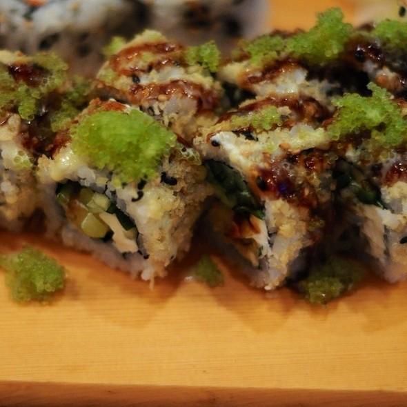 Godzilla roll - Sushi House, Leawood, KS