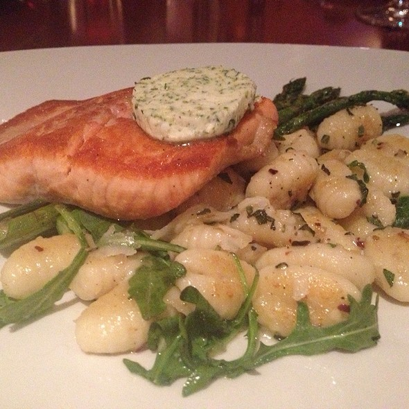 Pan Fried Salmon - Redwater Rustic Grille - South, Calgary, AB