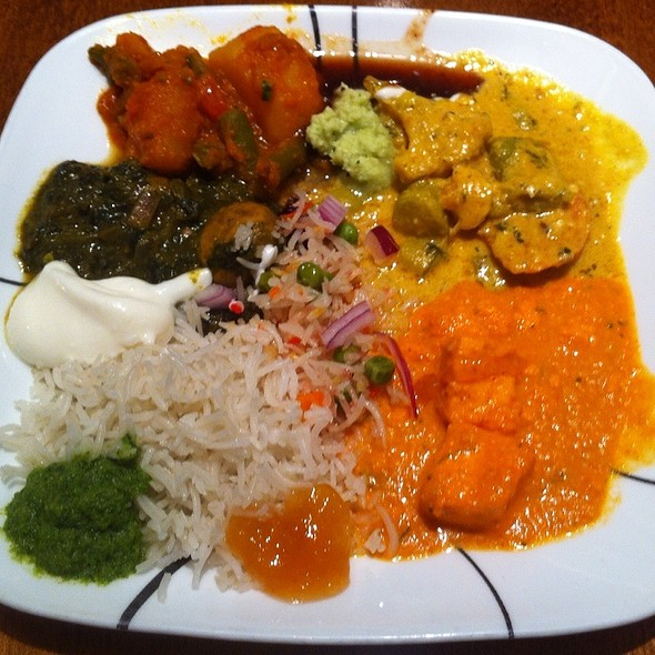lunch buffet - Mint Indian Bistro, Las Vegas, NV