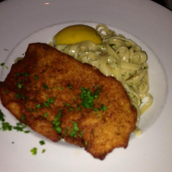 Fettucini Alfredo With Chicken Milanese - Olazzo - Silver Spring, Silver Spring, MD