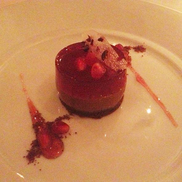 Chocolate Terrine - Redd, Yountville, CA