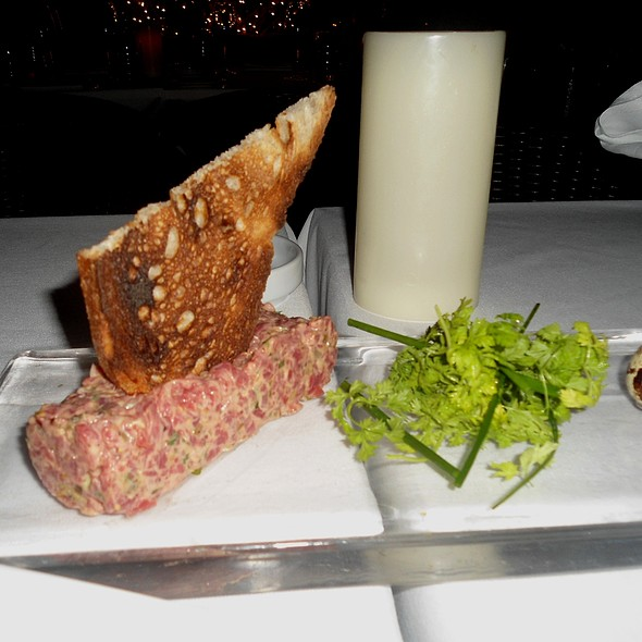 Steak Tartare With Quail Egg - Villa Azur, Miami Beach, FL