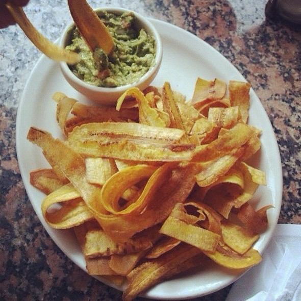 Plantain Chips & Guacamole - Cubanitas, Milwaukee, WI