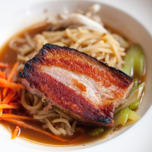 Ramen With Pork Belly - Mulvaney's B&L, Sacramento, CA