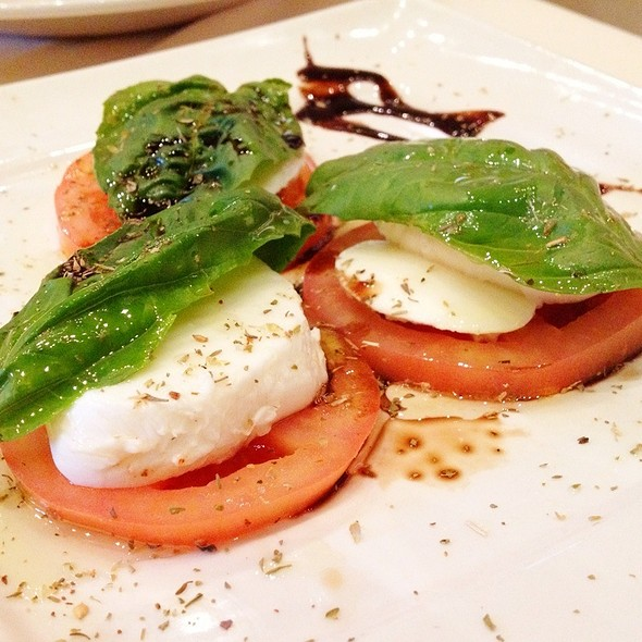Caprese Salad - Prego at the District, Tustin, CA