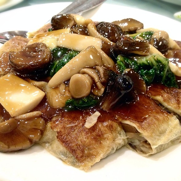 Mixed Mushroom Over Bean Curd Rolls - Amazing 66, New York, NY