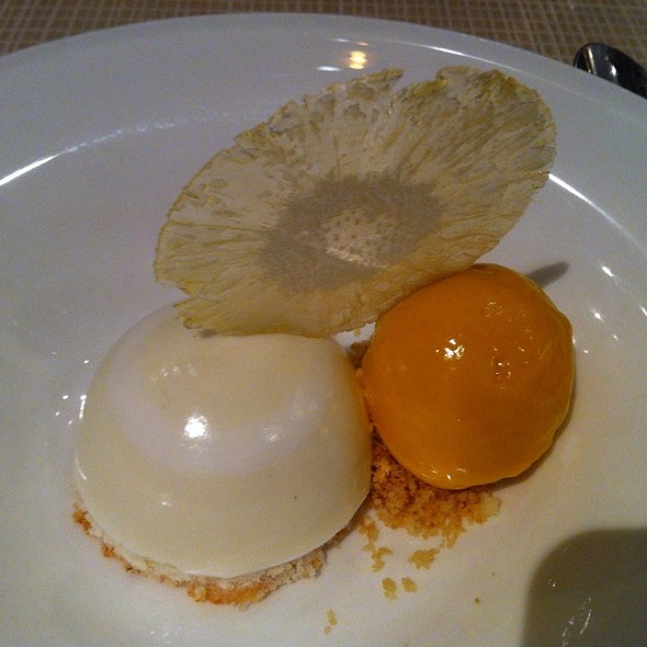 Mango Mousse - The London Bar & Restaurant, New York, NY