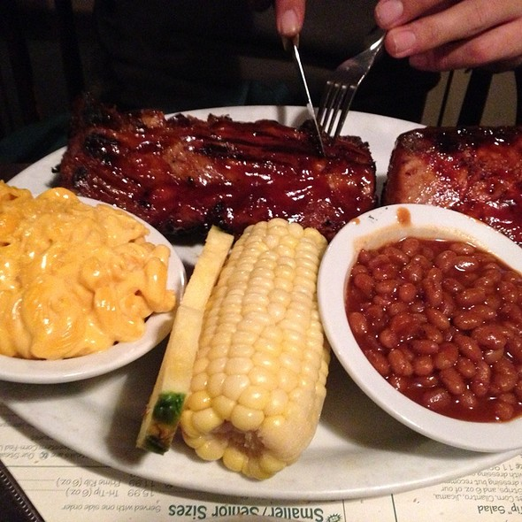 Tri Tip And Half Rack Of Ribs - Naples Rib Company, Long Beach, CA