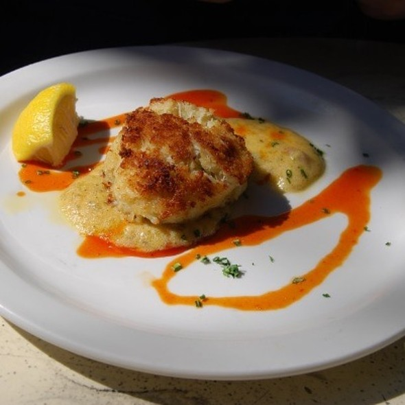 Crabcake Appetizer - 82 Queen, Charleston, SC