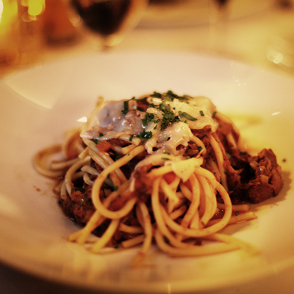 Oxtail Bolognese - The Heathman Restaurant, Portland, OR
