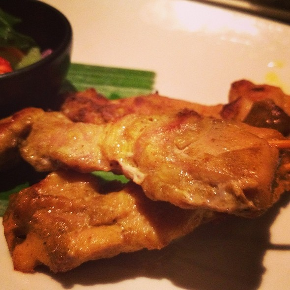 Chicken satay - Patara - Oxford Circus, London