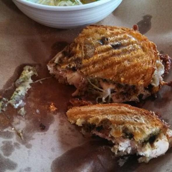 Basil Chicken Panini - Verace: True Italian, Islip, NY