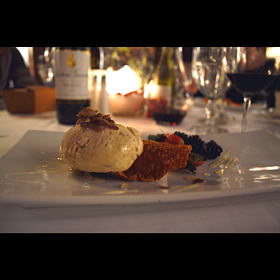 White Truffle Ice Cream - Chez Francois - Vermilion, Vermilion, OH