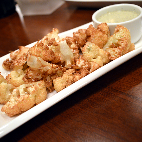 Flash Fried Cauliflower - J Bistro Downtown, Sandusky, OH