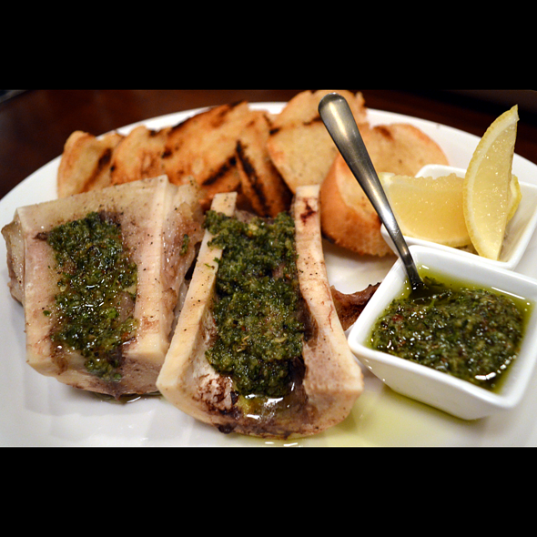 Roasted Bone Marrow - J Bistro Downtown, Sandusky, OH