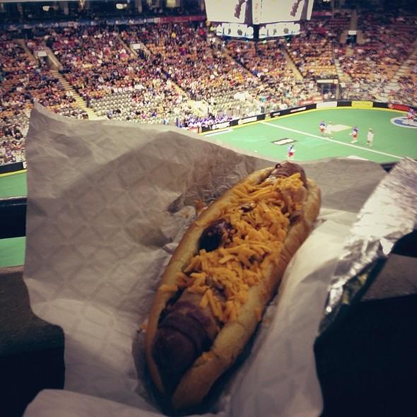 Footlong Bacon Wrap Dog - Air Canada Club - MLSE, Toronto, ON