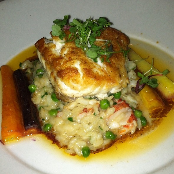 Seared Swordfish Over Lobster Risotto - Peninsula Grill, Charleston, SC
