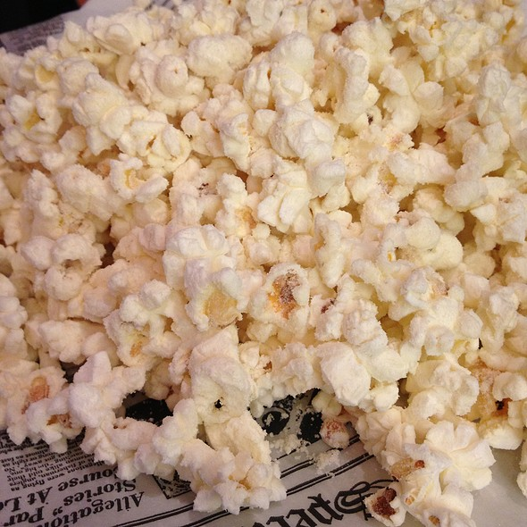 White Truffle Oil & Asiago Popcorn - Old Burdicks Bar and Grill, Kalamazoo, MI