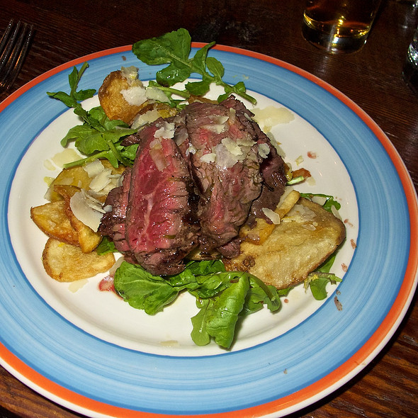 Wood-grilled Hanger Steak - Firehouse Restaurant, Portland, OR