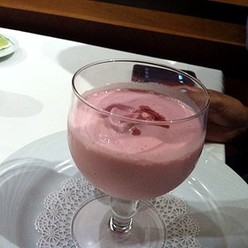 Strawberry cream  - Fogo de Chao Brazilian Steakhouse - Orlando, Orlando, FL