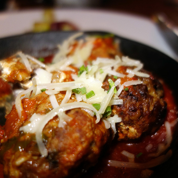 Stuffed Meatballs - Municipal Bar + Dining Co., Chicago, IL