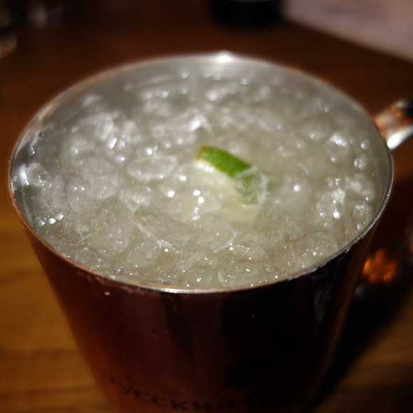 Moscow Mule - Municipal Bar + Dining Co., Chicago, IL