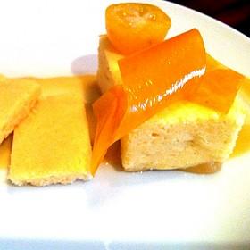 Pumpkin And Citrus Cheesecake - Restaurant EVOO, Montréal, QC