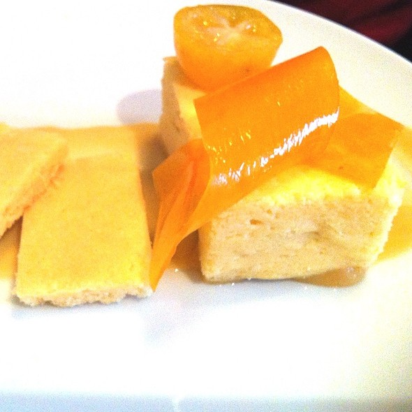 Pumpkin And Citrus Cheesecake - Restaurant EVOO, Montréal, QC