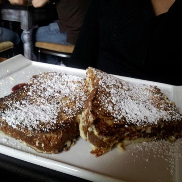 Tahitian Vanilla Bean French Toast With Raspberry Coulis - Etoile Cuisine Et Bar, Houston, TX