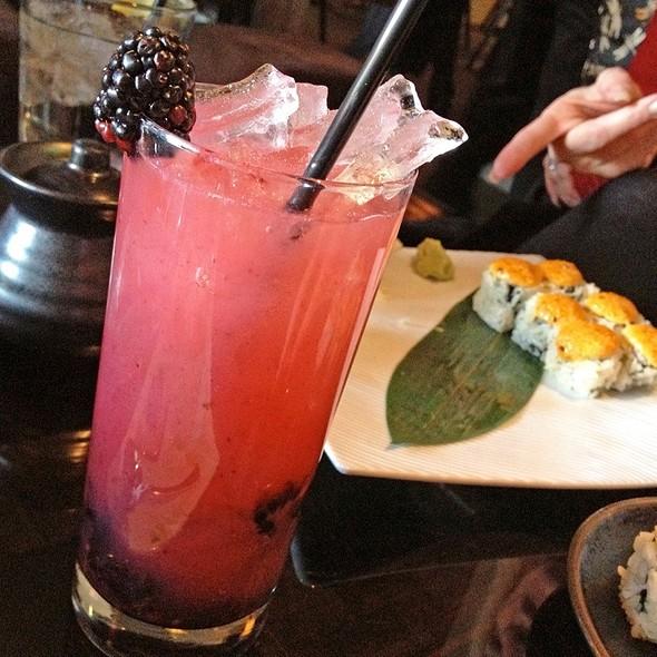 Violet Fizz Cocktail - Sushi Roku - Pasadena, Pasadena, CA