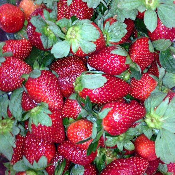 Strawberries - Michael's On East, Sarasota, FL