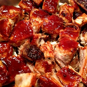 BBQ Pork Belly - Michael's On East, Sarasota, FL