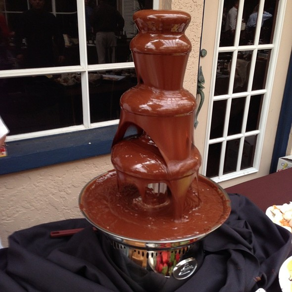 Chocolate Fountain - Michael's On East, Sarasota, FL