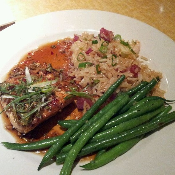Sweet Chili Glazed Salmon - Kona Grill - Oakbrook, Oak Brook, IL
