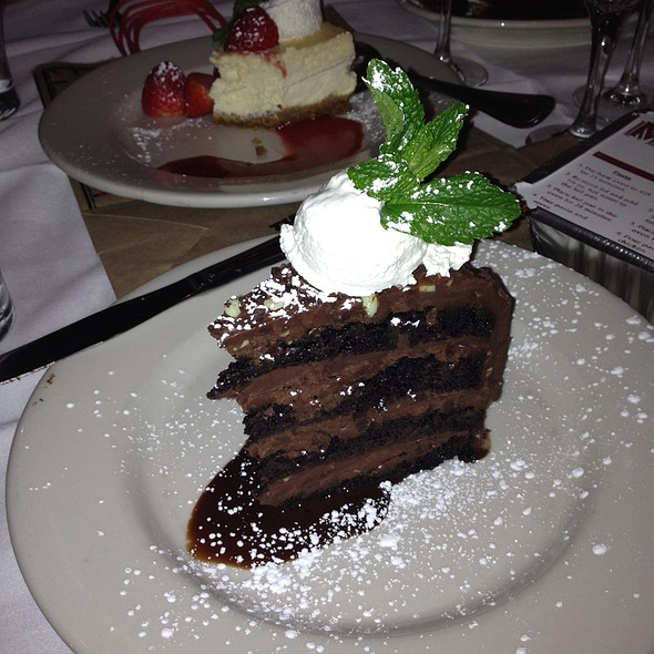 Andes Mint Chocolate Cake - Maggiano's - Boston, Boston, MA